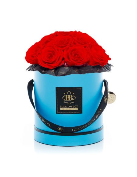 Large - Classic Blue - Bouquet de Luxe - Adriana Red