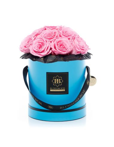 Large - Classic Blue - Bouquet de Luxe - Mary Pink