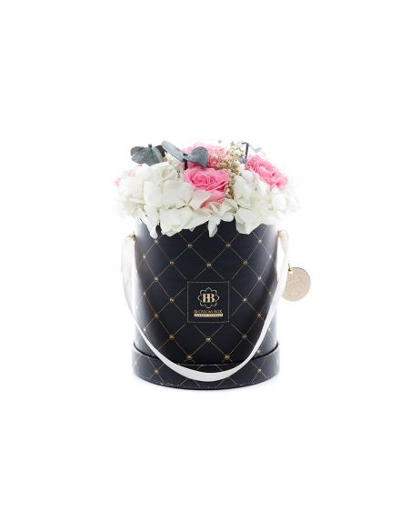 Medium - Premium Black - Mixed Infinitybouquet - Melon Sorbet