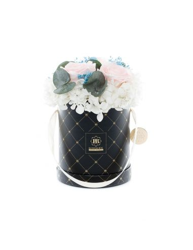 Medium - Premium Black - Mixed Infinitybouquet - Greek Holiday