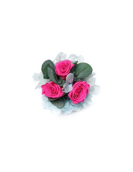 XS - Marble - Mixed Infinitybouquet - Pink River