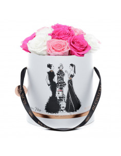 Large - Fashion Blossom Box by Megan Hess - Limited Edition - Flowerpower