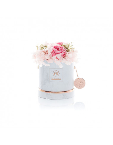 Small - Classic White - Mixed Infinitybouquet - Belles Fleur