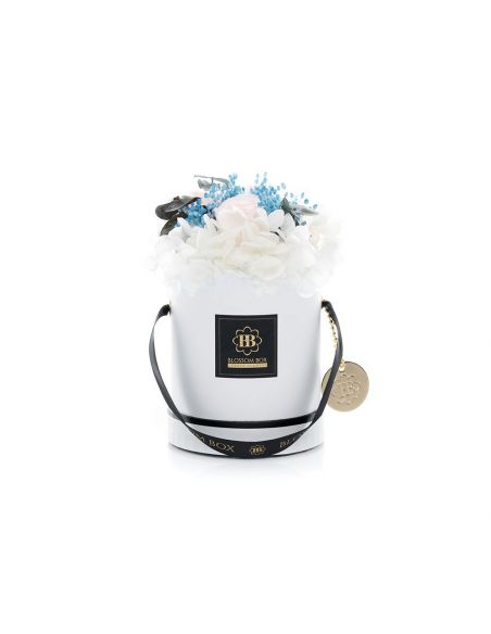 Small - Classic White - Mixed Infinitybouquet - Greek Holiday