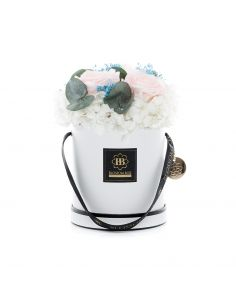 Medium - Classic White - Mixed Infinitybouquet - Greek Holiday