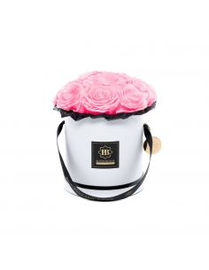 M - Classic White - Bouquet de Luxe - Mary Pink