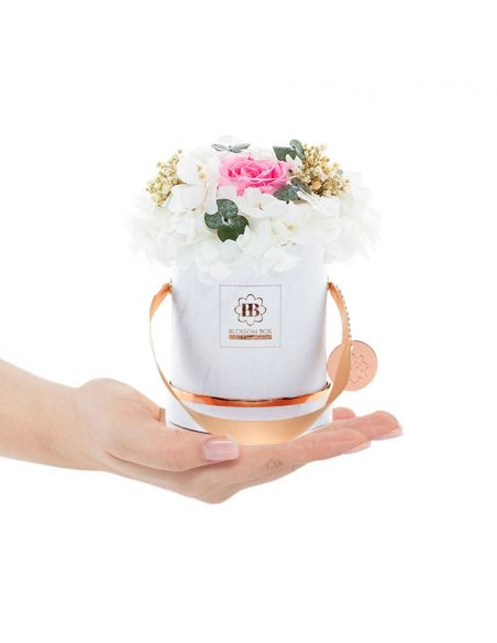 Small - Marble - Mixed Infinitybouquet - Melon Sorbet