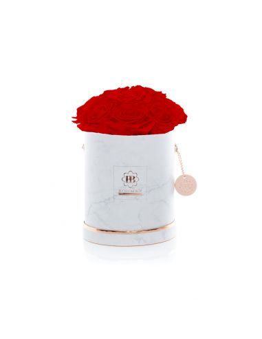 M - Marble - Bouquet de Luxe - Adriana Red