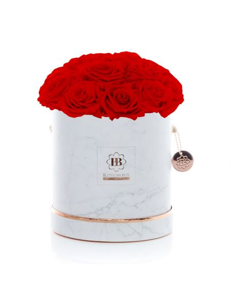 L - Marble - Bouquet de Luxe - Adriana Red