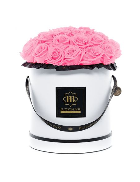 XL - Classic White - Bouquet de Luxe - Mary Pink