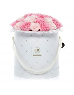 XL - Premium White - Bouquet de Luxe - Luana Rose