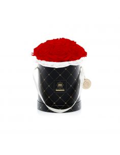 M - Premium Black - Bouquet de Luxe - Adriana Red